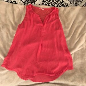 Pink tank top, Candie's brand from Kohl's